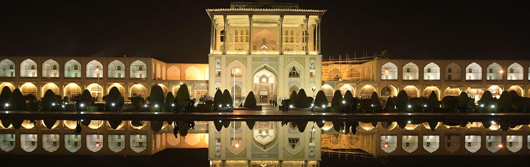 Isfahan - Ali Qapu Palace by night