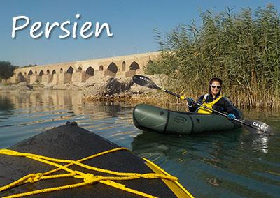 Kanu- und Packraft-Expeditionen in Persien mit der Kanuschule-Schweiz