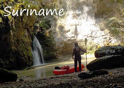 Kanu- und Packraft-Expeditionen in Suriname mit der Kanuschule-Schweiz