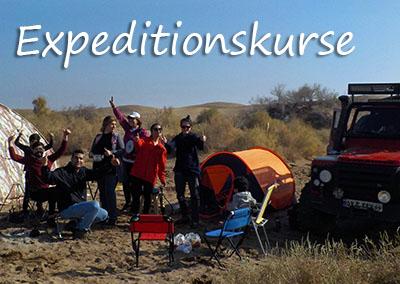 Expedition-Vorbereitungskurse mit der Kanuschule-Schweiz