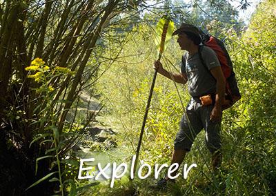 Explorer Kanu-Touren mit der Kanuschule-Schweiz