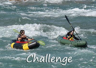 Challenge Packraft- und Kanu-Touren mit der Kanuschule-Schweiz